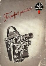1930s BOLEX H8 & H16 MOVIE CAMERA OWNERS INSTRUCTION MANUAL