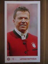 Autogrammkarte LOTHAR MATTHÄUS Bayern München PR SHANGHAI CHINA 18/19 2018/2019