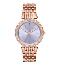 NWT Michael Kors Women's Darci Rose Gold-Tone Stainless Steel Bracelet Watch