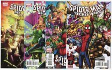 Spider-Man & The Secret Wars #1 - 4  Complete Set  avg. NM 9.4  Marvel  2010