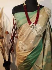 Indian Wear Designer Sari Jute silk Bollywood Sari Women's Special Wear I 13-4