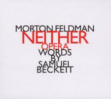 Morton Feldman : Morton Feldman: Neither CD (2011) ***NEW***