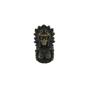 Maya Goddess Hanging Pendant Knife DIY Bead Vintage Keychains Lanyard EDC Beads