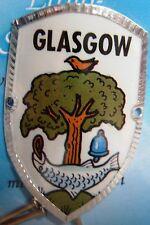 Scotland Glasgow new badge mount stocknagel hiking medallion G9771