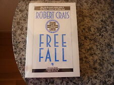Free Fall by Robert Crais. Signed uncorrected proof in White wrappers