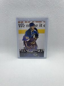 08-09 UPPER DECK YOUNG GUNS ROOKIE RC #241 BLUES - ALEX PIETRANGELO