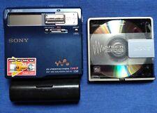 SONY MD WALKMAN MZ-N1 TYPE-R BLUE PORTABLE MINI DISC RECORDER