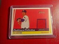 2016 YU DARVISH TOPPS HERITAGE CLUBHOUSE COLLECTION GU JERSEY # CCR-YD
