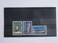 Cyprus Stamps SG 324-26 1968 Mexico Olympic Games Official