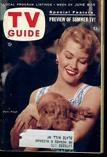 PATTI PAGE  TV GUIDE  1956
