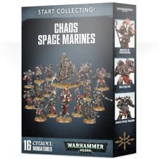 Games Workshop Warhammer 40K Start Collecting Chaos Space Marines Miniatures - 99120102108