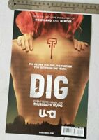 Dig TV Show RARE Print Advertisement