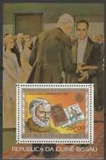 Nobelprijs Winnaars postfris Guine Bissau 1977 MNH block 59 - Hemingway (S2078)