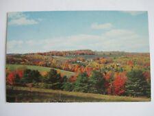 Postcard VT 4 Season State Fall in Vermont