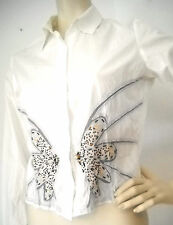 Hüftlange BiBA Langarm Damenblusen, - tops & -shirts für Party-Anlässe