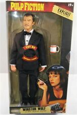 Winston WOLF Quentin Tarantino Pulp Fiction Talking BEELINE Figure Harvey Keitel