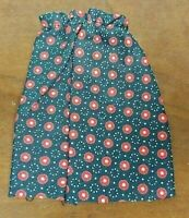Vintage Authentic 1957 Vogue Ideal JILL Ginny Doll Red Black Poppy Flower Skirt