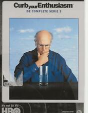 2 DVD box - CURB YOUR ENTHUSIASM  serie SEASON 3 FRANCAIS ENGLISH / NL region 2
