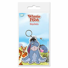EEYORE PVC KEYRING RUBBER METAL LOOP WINNIE THE POOH DISNEY DONKEY GIFT TOY