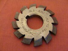 Morse Involute Gear Cutter 8 Dp 20 Pa No 2 Bore 1 Hss Usa