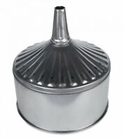 """WirthCo 94467 12 Quart, 11"""" Center Spout Funnel with Removable Strainer"""