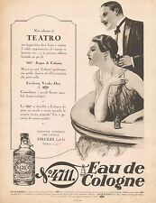 J0975 Eau de Cologne 4711 - Pubblicità grande formato - 1929 Old advertising