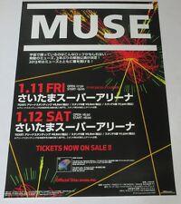 MUSE Japan PROMO ONLY 73 x 51 cm TOUR POSTER official 2013 unused MATT BELLAMY