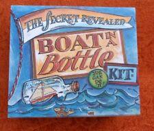 BOAT IN A BOTTLE KIT The Secret Revealed Mini Model Kit Craft Gift Box