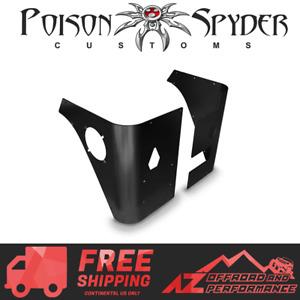 Poison Spyder Corner Armor Stock Tail Lights For 1997-2006 Jeep Wrangler TJ