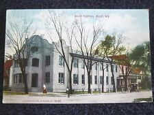 Early 1900's The Beloit Hospital in Beloit, WI Wisconsin PC
