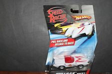 """HOT WHEELS """"SPEED RACER"""" MACH 5 PULL BACK RELEASE TO RACE IN PACKAGE"""