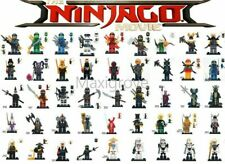 Ninjago Minifigures Kai Jay Lloyd Zane Cole Ninja Skeleton Troopers Movie Harumi