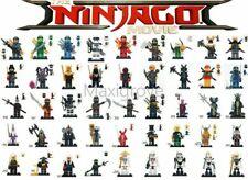 Ninjago Minifigures Kai Jay Lloyd Zane Cole Ninja Skeleton Troopers Movie