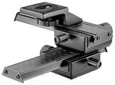Neewer 4 Way Macro Focusing Focus Rail Slider Close-up Shooting for Canon Camera