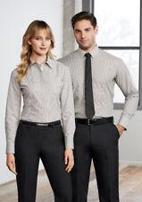 Biz Collection Men's Berlin Long Sleeve Business Shirt Easy Iron Wrinkle Free NE