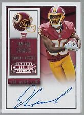 2015 Panini Contenders Football Rookie Ticket Jamison Crowder On Card Auto Rc