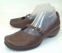 Merrell Wos Shoes Mary Jane SPIRE EMME US9.5 Brown Leather Wedge Q form 44