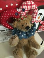 Deb Canham BUTTON JESTER Mohair Artist Teddy Bears Rosemont Exclusive HTF