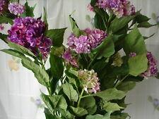 Künstlicher Hortensienbusch Hortensienstrauch 135cm Hortensien Kunstblumen Blume