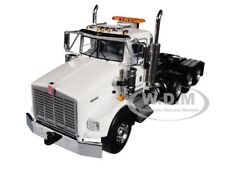 KENWORTH T800 8X4 4 AXLE TRACTOR DAY CAB WHITE 1/50 DIECAST WSI MODELS 33-2016