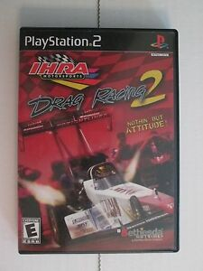 IHRA Motorsports Drag Racing 2 (Playstation 2) Complete & Tested