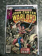 Marvel Comics Group 12 John Carter Warlord Of Mars - HGComic Book  B13-10
