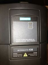 USED Siemens MM430 Drive 6SE6430-2UD38-8FA0, 120HP/90kW, 380-480V