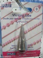 PME Writing Tube #0 cake decorating tip supatube icing piping nozzle #ST0