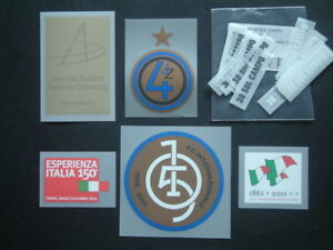 PATCH ufficiali VARIE STAGIONI JUVE-INTER-LEGA official patch mix seasons