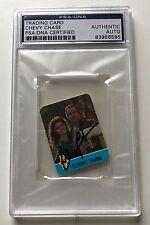1988 Hostess Funny Farm Summer Flicks Chevy Chase Signed Auto Card PSA/DNA (B)