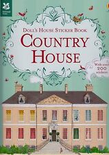 Doll's House Sticker Book Country House BRAND NEW BOOK (Paperback 2015)