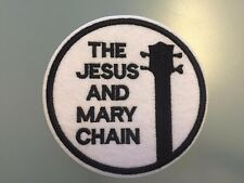 THE JESUS AND MARY CHAIN Patch - Embroidered Iron On Patch 3 ""