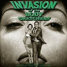 Carmen Dragon - Invasion Of The Body Snatchers SDTK LP NEW LMTD ED GREEN VINYL