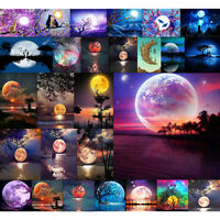 Moon & Lake Full Drill DIY 5D Diamond Painting Embroidery Cross Stitch Kit Room